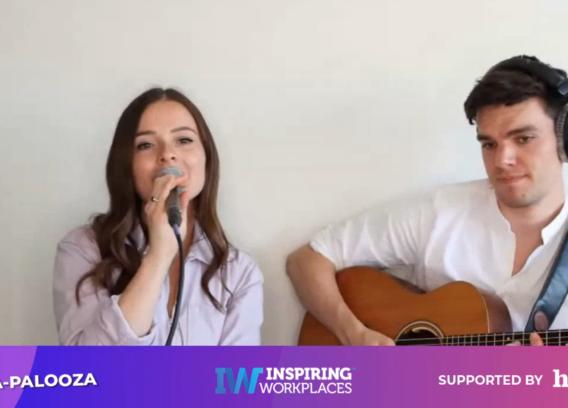 Inspiring Workplaces | Work-a-Palooza Concert