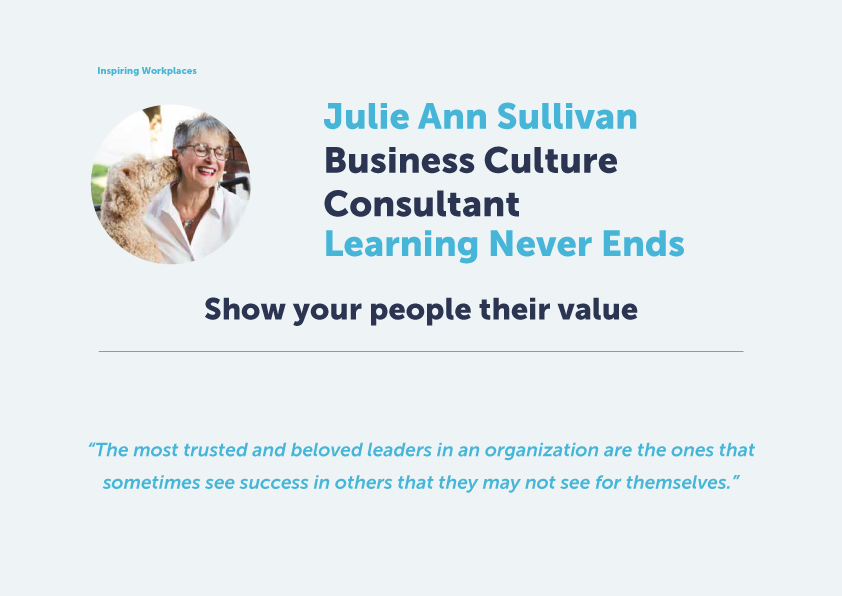 Inspiring your people in a changing world –  Show your people their value
